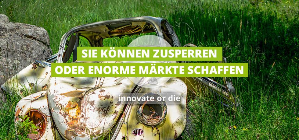 Ein Bild von Käfer - innovate or die