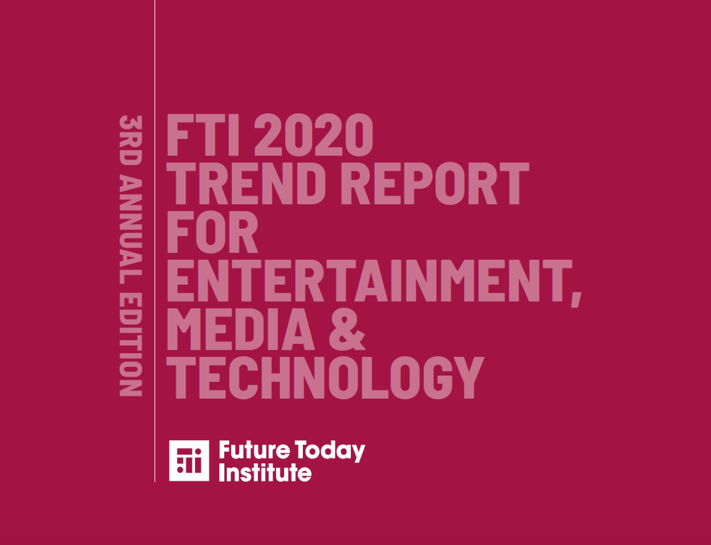 Cover des FTI 2020 Trend Report for Entertainment, Media & Technology
